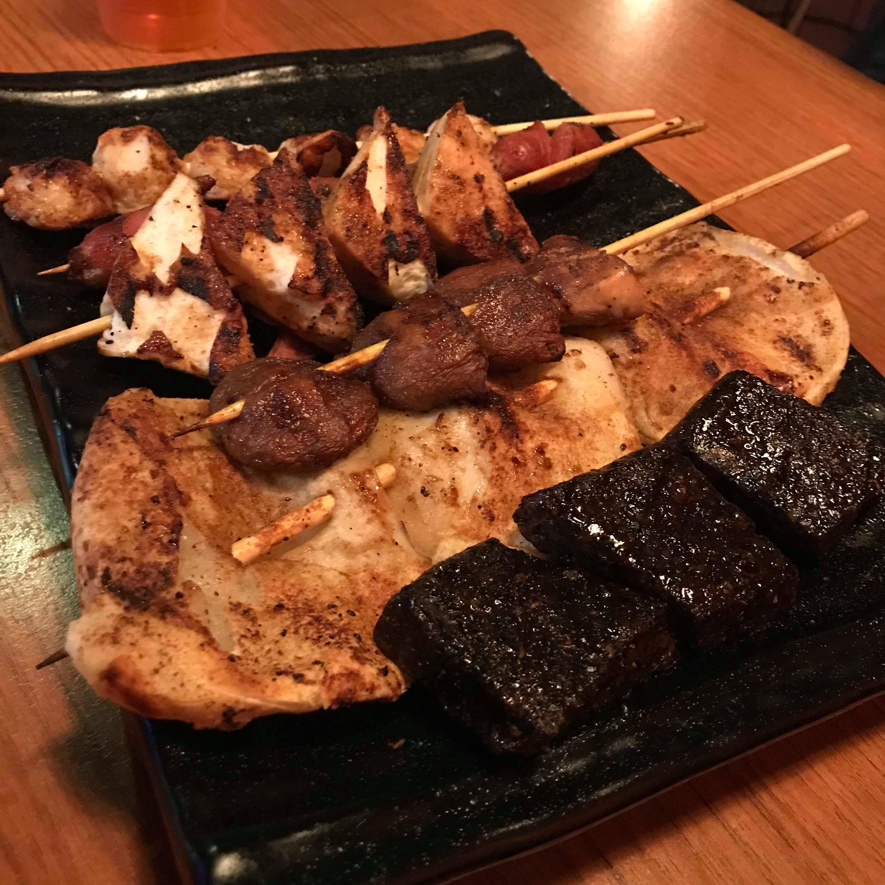 【食記】台北平價串燒|柒串燒屋|可內用可外帶|內有菜單