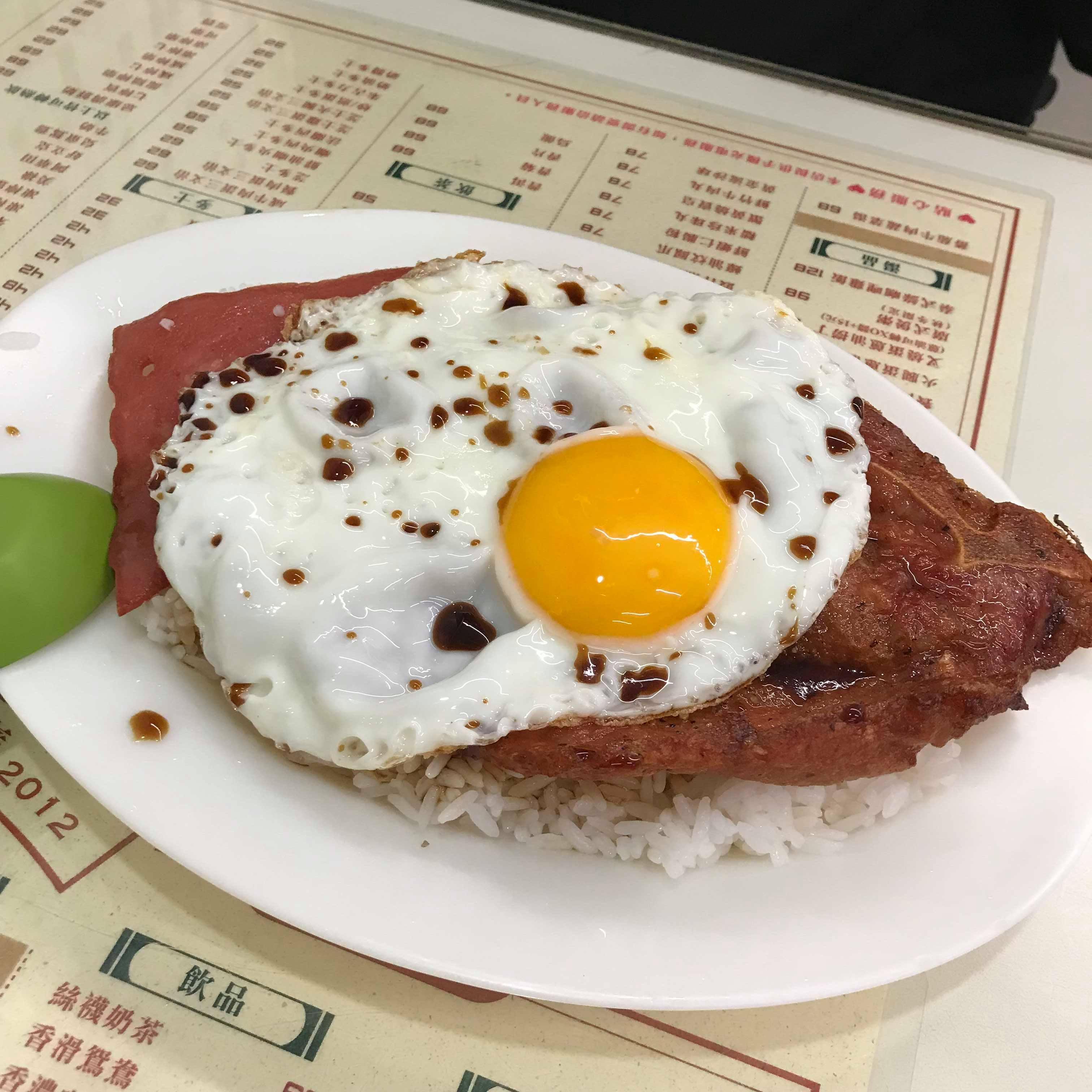 【食記】美生茶餐廳|桃園港式茶餐廳|港仔來著|必吃煎蛋豬扒飯