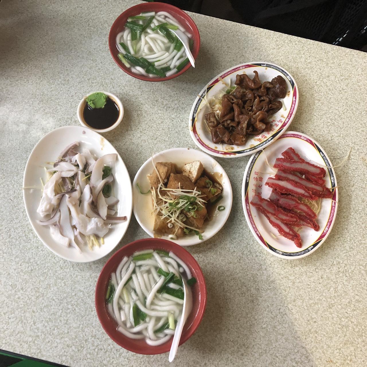【食記】高家莊米苔目|台北人氣宵夜美食|林森北路宵夜推薦