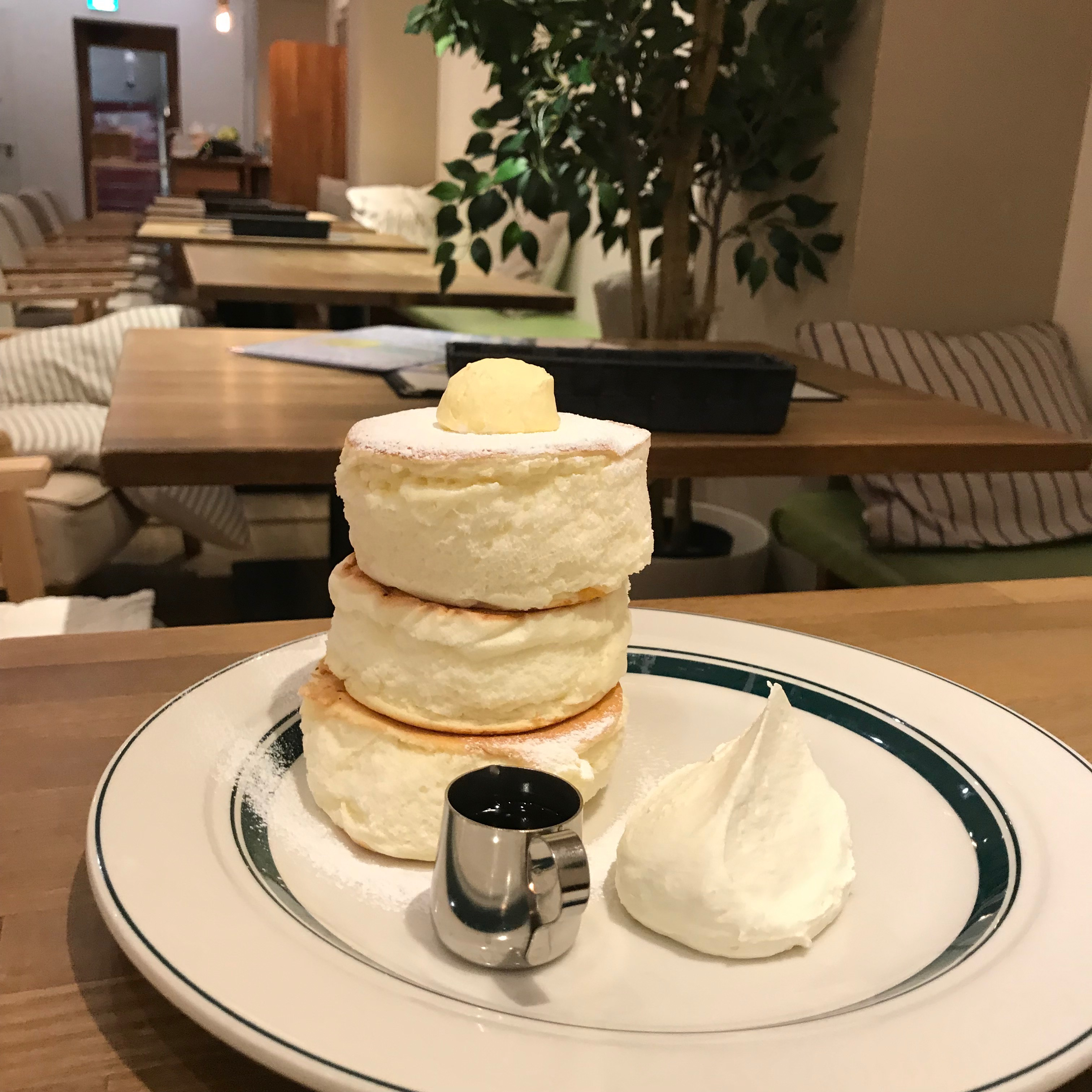 【食記】大阪必吃點心|鬆鬆軟軟厚鬆餅gram|每日限量60份