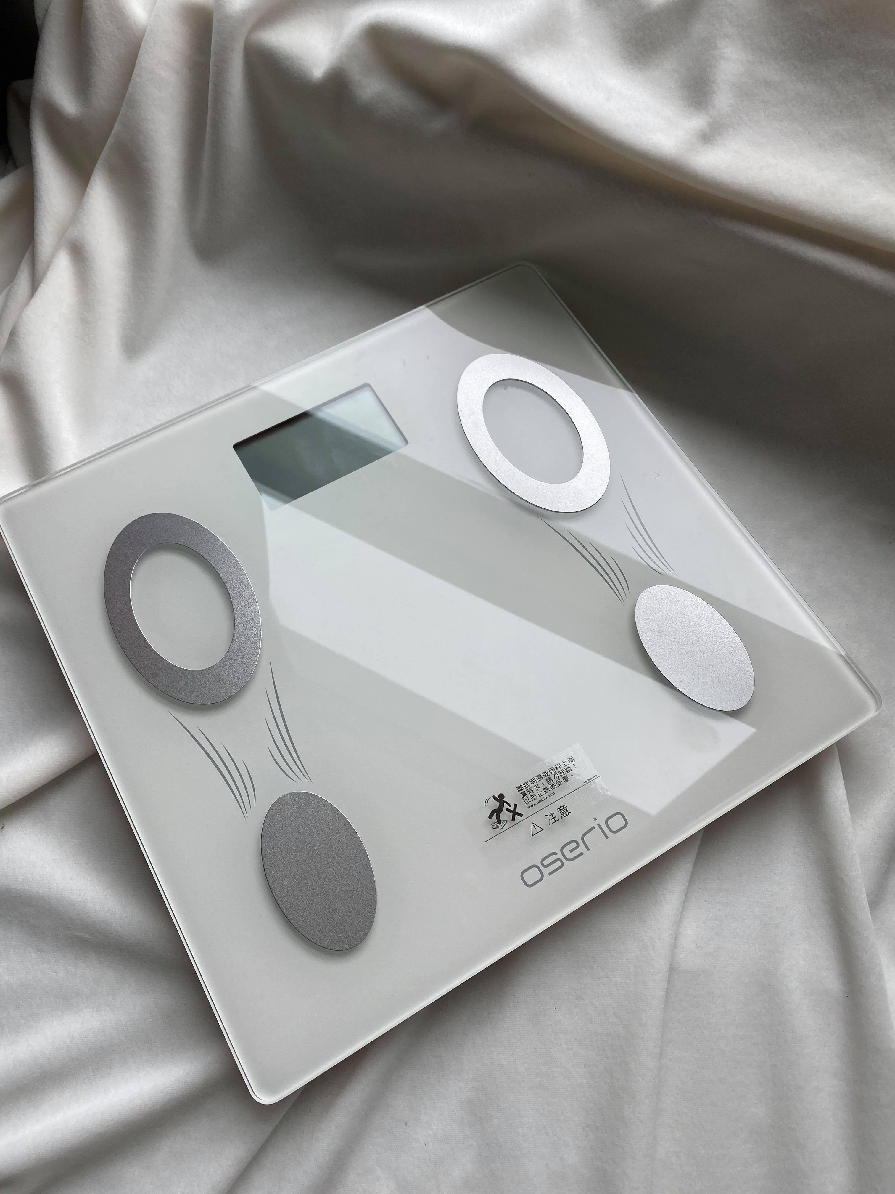 【好物】oserio歐瑟若智能體重計|減肥的好幫手|用對方法不復胖